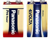 9 Volt / 6LR61 Alkaline batterier
