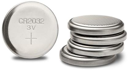 Lithium knapcelle batterier 3V