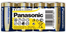 D/LR20 Alkaline POWER Panasonic 24stk.