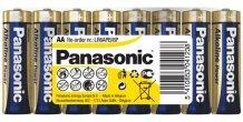 AA/LR6 Alkaline POWER Panasonic batteri 8stk.