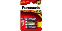 AAA/LR03 Alkaline PROPOWER Panasonic 4stk.