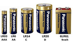 Alkaline Power batterier