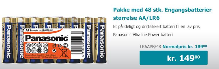 Billige AA batterier - batterier.dk