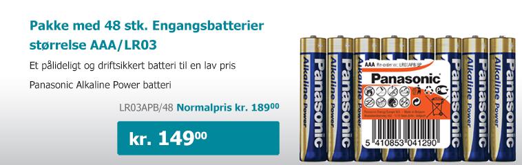 Billige AAA batterier - batterier.dk