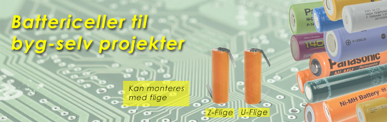 Battericeller til selvbyg