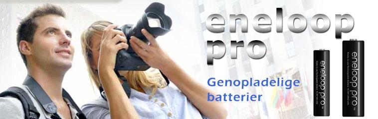 Eneloop Pro - Genopladelige batterier