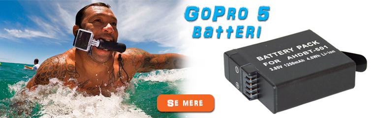 GoPro 5 batteri
