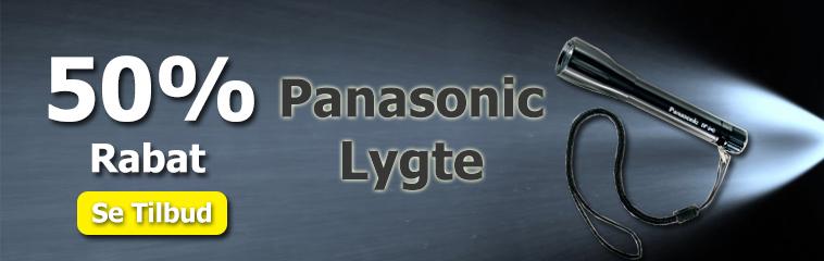Panasonic Lygte