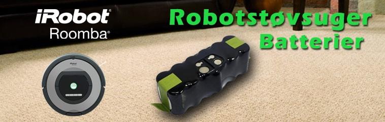 Robotstøvsuger batterier