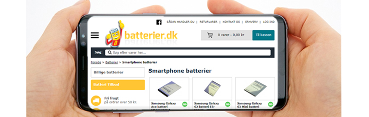 SmartPhone batterier