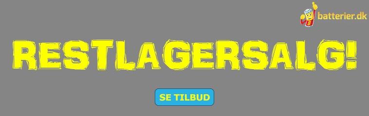 Restlagersalg - batterier.dk